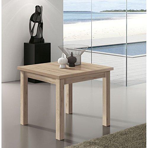 Amuebla Mesa DE Comedor Tipo Libro DE 90 X 90 CM. Extensible ...