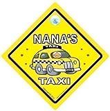 Nanas Taxi Auto Schild, Taxi, Taxi-schild, Baby on Board, Board Zeichen, Neuheit...