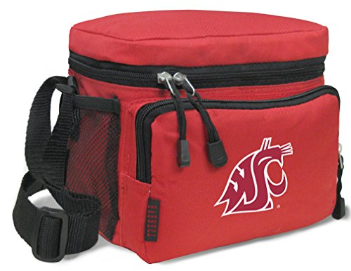 Broad Bay Washington State Lunch Bags NCAA Washington State University Lunch Boxes