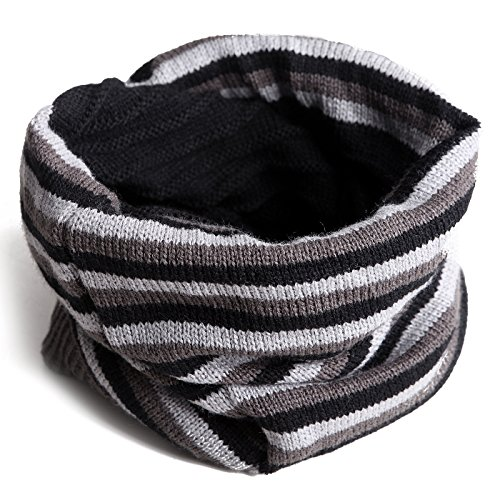 HDE Reversible Slouchy Pashima Striped