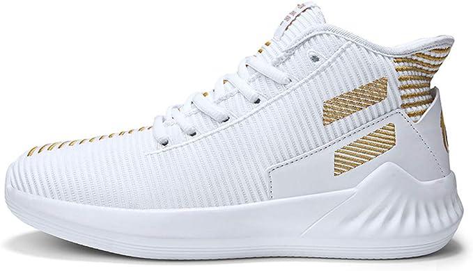 SXFGML Zapatillas De Deporte Hombres Running Zapatos para Correr Gimnasio Sneakers Deportivas Padel Transpirables Casual Montaña,Platinum,39: Amazon.es: Hogar