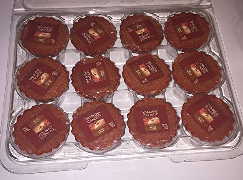 - Yankee Candle Lot of 12 Apple Spice Tarts Wax Melts