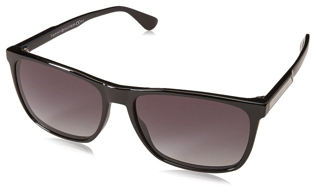 Tommy Hilfiger TH 1547/S Gafas de sol, Negro (BLACK), 57 para Hombre