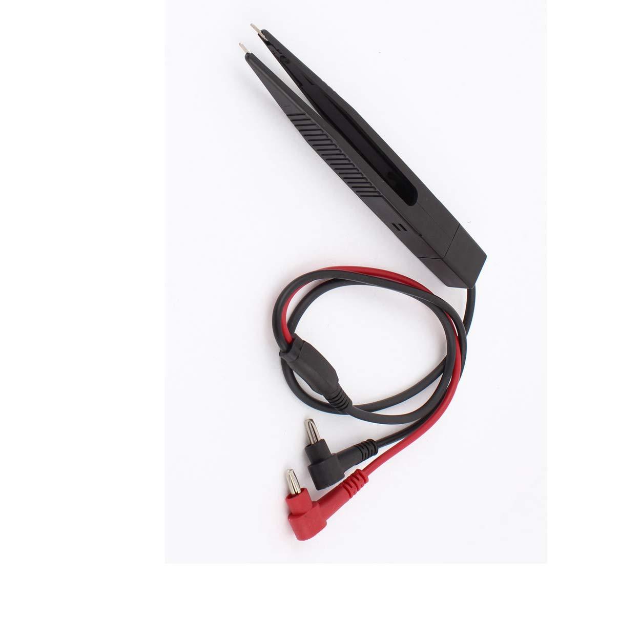 SMD Resistor Multimeter Capacitor Test Clip Inductor Tester Meter Probe Tweezer