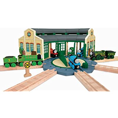 Fisher-Price Thomas & Friends Wooden Railway, Tidmouth Sheds: Toys & Games