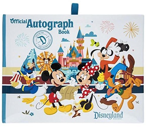 Autograph Disney Albums (Disneyland Official Autograph Book - Set of 2 Books, White, Small)