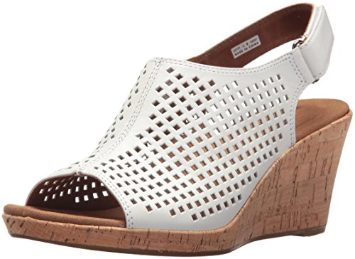 Perf Women's Briah Rockport Sling White Pc6ZpEq6yT