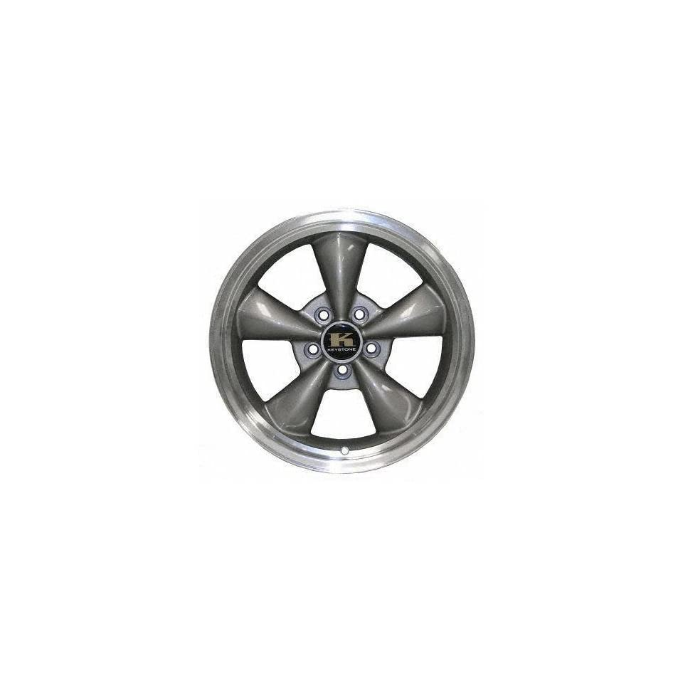 95 03 FORD MUSTANG ALLOY WHEEL RIM 17 INCH, Diameter 17, Width 8 (5 SPOKE ROUNDED), CHARCOAL GREY, 1 Piece Only, Remanufactured (1995 95 1996 96 1997 97 1998 98 1999 99 2000 00 2001 01 2002 02 2003 03