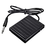Universal Foot Sustain Pedal Controller Switch Compatible With All Piano Electronic Keyboards 1-