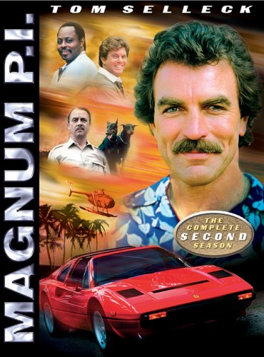 DVD : Magnum P.i.: Complete Second Season (Full Frame, Dolby, Subtitled, Slim Pack, 3PC)
