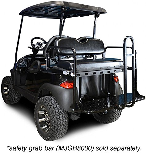 Madjax Genesis 150 Rear Flip Seat For Club Car Precedent Golf Cart - -