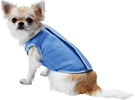 YAKEFJ: Chaleco de Refrigeración para Perro, Abrigos ...