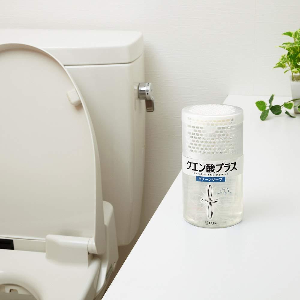 置き型タイプのトイレ用消臭剤