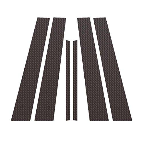 Carbon Fiber Pillar Post Trim Cover fits: 2006-2014 Lexus GS - Ferreus Industries - PIL-056-CF (Pillar Covers B Carbon Fiber)
