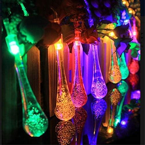Cadena de Luces LED Decorativas Guirnalda de luces LED de Navidad de 5 M 20 piezas guirnalda de hadas impermeable para boda fiesta de Navidad Festival iluminación exterior