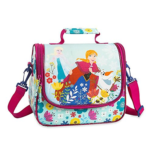 Disney Frozen Anna and Elsa Lunch Tote Blue