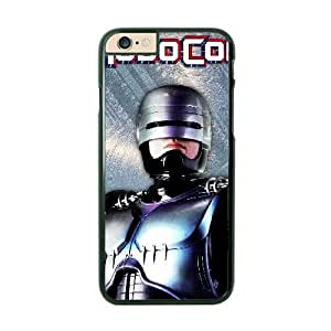 Robo Cop iPhone 6 Plus Black Cell Phone Case GSZWLW1072 Cheap Cell Phone Case