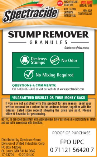 Spectracide stump remover directions youtube.