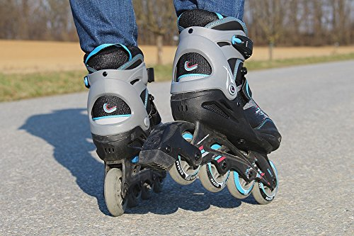 Home Comforts Print on Metal Recreational Sports Inline Skates Rollerskates Sport Print 12 x 18. Worry Free Wall Installation - Shadow Mount is ()