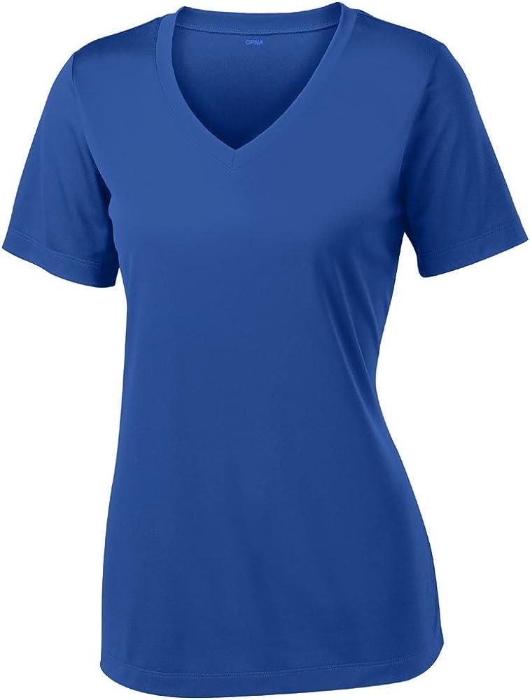 Opna Women's Short Sleeve Moisture Wicking Athletic Shirts Sizes XS-4XL: Clothing