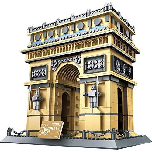 wange-Y World Famous Architecture Blocks Eiffel Tower Model Building Bricks Set London Bridge DIY Assembly Toys for Children 8015 ()