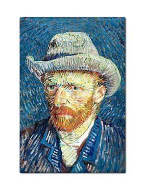 van gogh fridge magnet - 4
