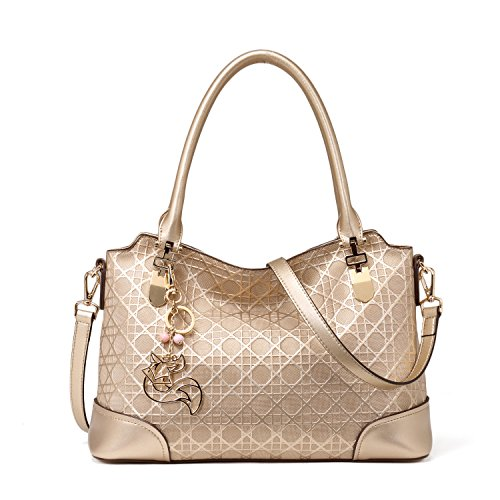 Image of MATAGA Handbags for Women Leather Little Luxury Cross Body bags JHFX998049 (golden)