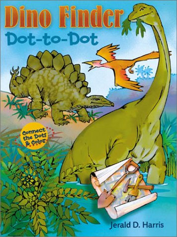 Dino Finder Dot-to-Dot: Connect the Dots & Color Text fb2 book
