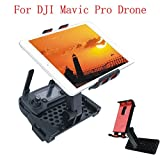 Gotd Remote Control Phone Flat Bracket 4-12 Inch Holder Parts for DJI Mavic Pro Drone