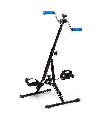 Bicicleta estática Brazo portátil y pedal de bicicleta de pierna ...