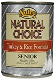 Nutro Natural Choice Senior – Turkey and Rice – 12 x 12.5 oz