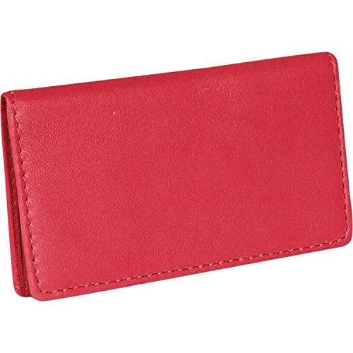 (Royce Leather Business Card Case (Red))