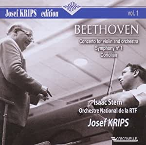 Beethoven: Concerto for Violin and Orchestra / Symphony No. 1 / Coriolian Overture