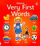 : Very First Words (Usborne First Words Board Books)