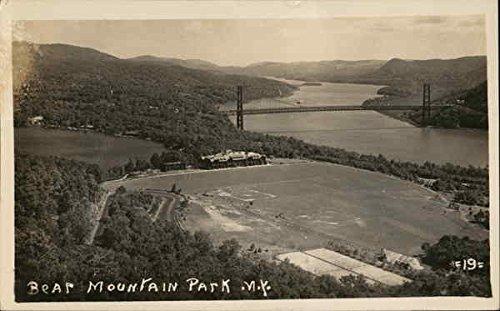 Bear Mountain Park and Bridge Stony Point, New York Original Vintage - Point Stony Park