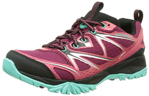 Femme Bright Red Multicolore Bolt Merrell Gore Capra Tex qZxw0wIYB