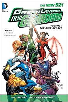 Book Green Lantern New Guardians Volume 1: The Ring Bearer TP (The New 52) by Tony Bedard (2013-08-15)