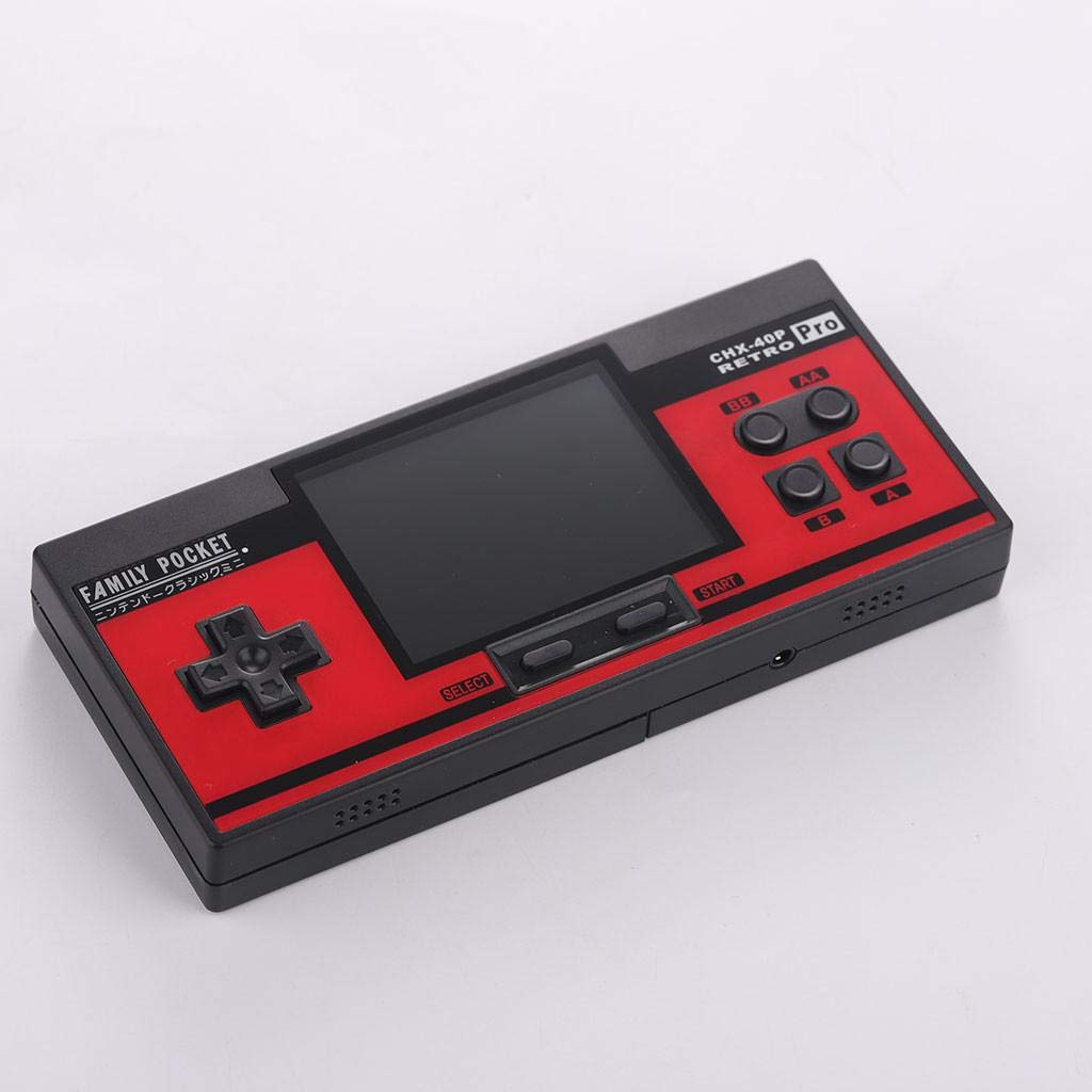 Built in 638 Games 8 Bit Game Console,Hongxin Retro Portable Handheld Family Pocket Game Player (Red) by Hongxin-Game Console (Image #6)