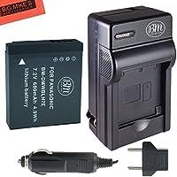 BM Premium DMW-BLH7 Battery and charger for Panasonic Lumix DC-GX850, DMC-LX10, DMC-LX15, DMC-GM1, DMC-GM1K, DMC-GM1KA, DMC-GM1KS, DMC-GM5, DMC-GM5KK Digital Camera