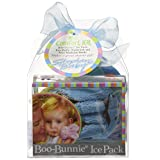 Stephan Baby Boo Bunnie Ice Pack and Boo Cube, Blue