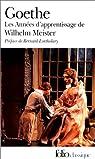 Les années d'apprentissage de Wilhelm Meister par Goethe