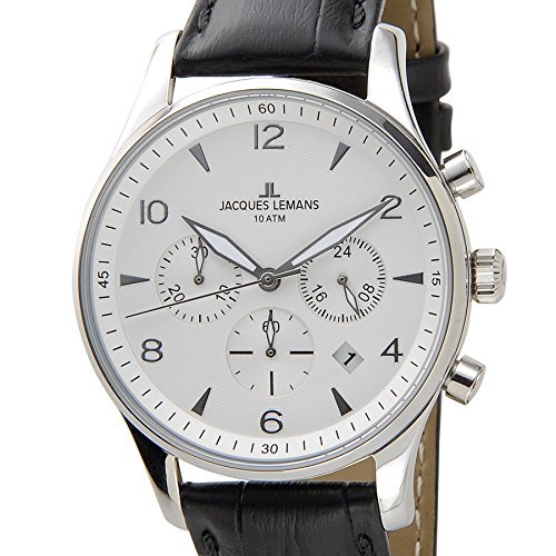 Jack Le Mans Jacques Lemans Kevin Costner Ambassador model 1-1654B Mens Watch