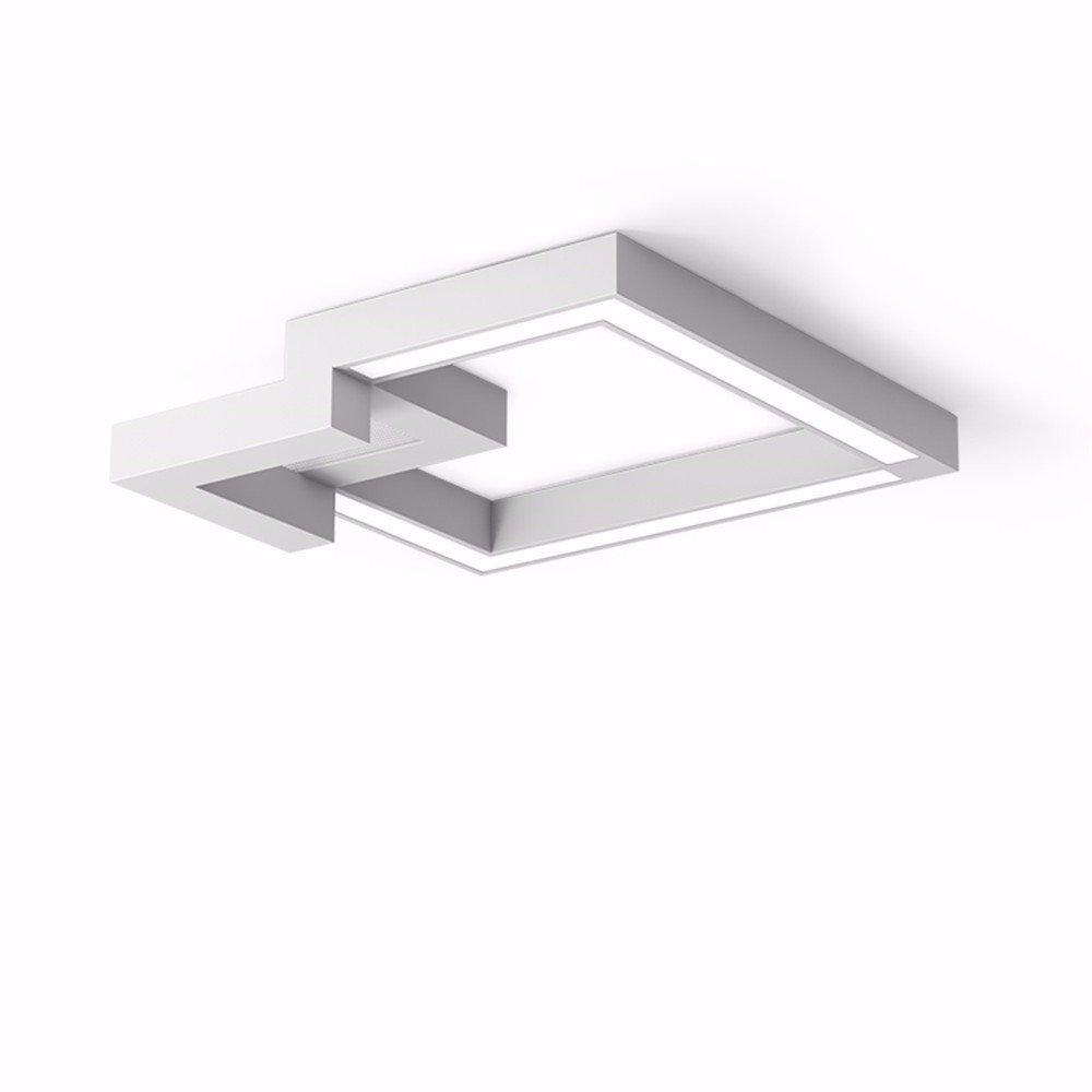 Linbo Lámpara De Techo Led Ideas Geométricas Sala De Estar Lámpara ...