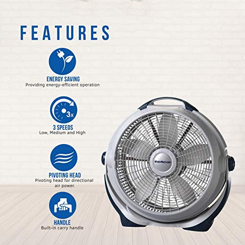 Buy quiet floor fan