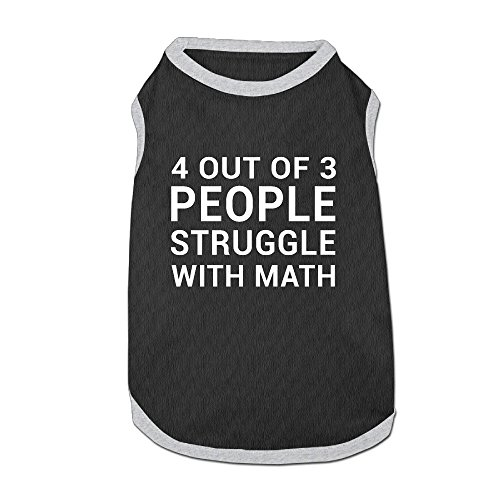 pet-clothing-4-out-of-3-people-struggle-with-math-hot-logo-cool-dog-shirt-vest