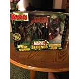 Marvel Legends Monsters Set Werewolf , Dracula, Zombie, Frankenstein