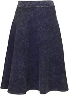 product image for Hard Tail Forever Valentina Knee Length Flairy Cotton Skirt Style DL-12