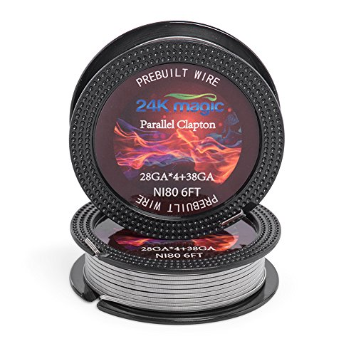 Parallel Clapton Nichrome 80 28gx4+38g 6ft Electronic Resistance Wire