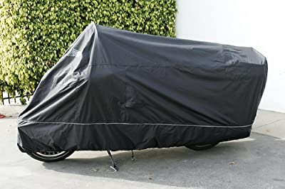 Formosa Covers Premium Motorcycle Cover for Honda Gold Wing F6B, includes Cable & Lock - Eagle Logo from Mansport