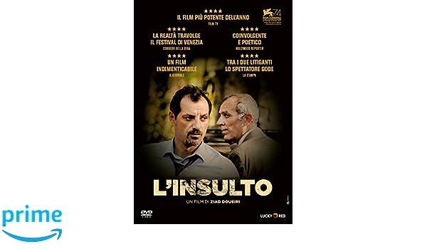 LInsulto (DVD) [Italia]: Amazon.es: Kamel El Basha, Adel Karam, Camille Salameh, Ziad Doueiri: Cine y Series TV